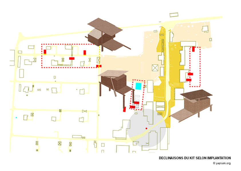 Cellule d'habitat minimum YA+K4