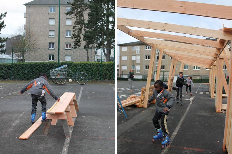 YA+K - yaplusk -Avranches - coconstruction du pavillon (3)