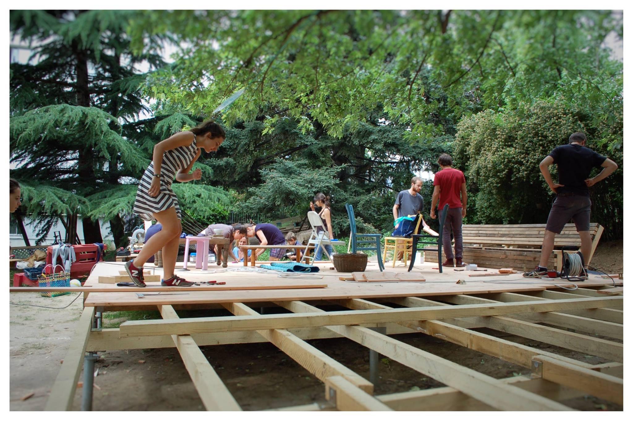 YA+K - yaplusk - Baleine Verte - chantier participatif à Paris 12ème (1)