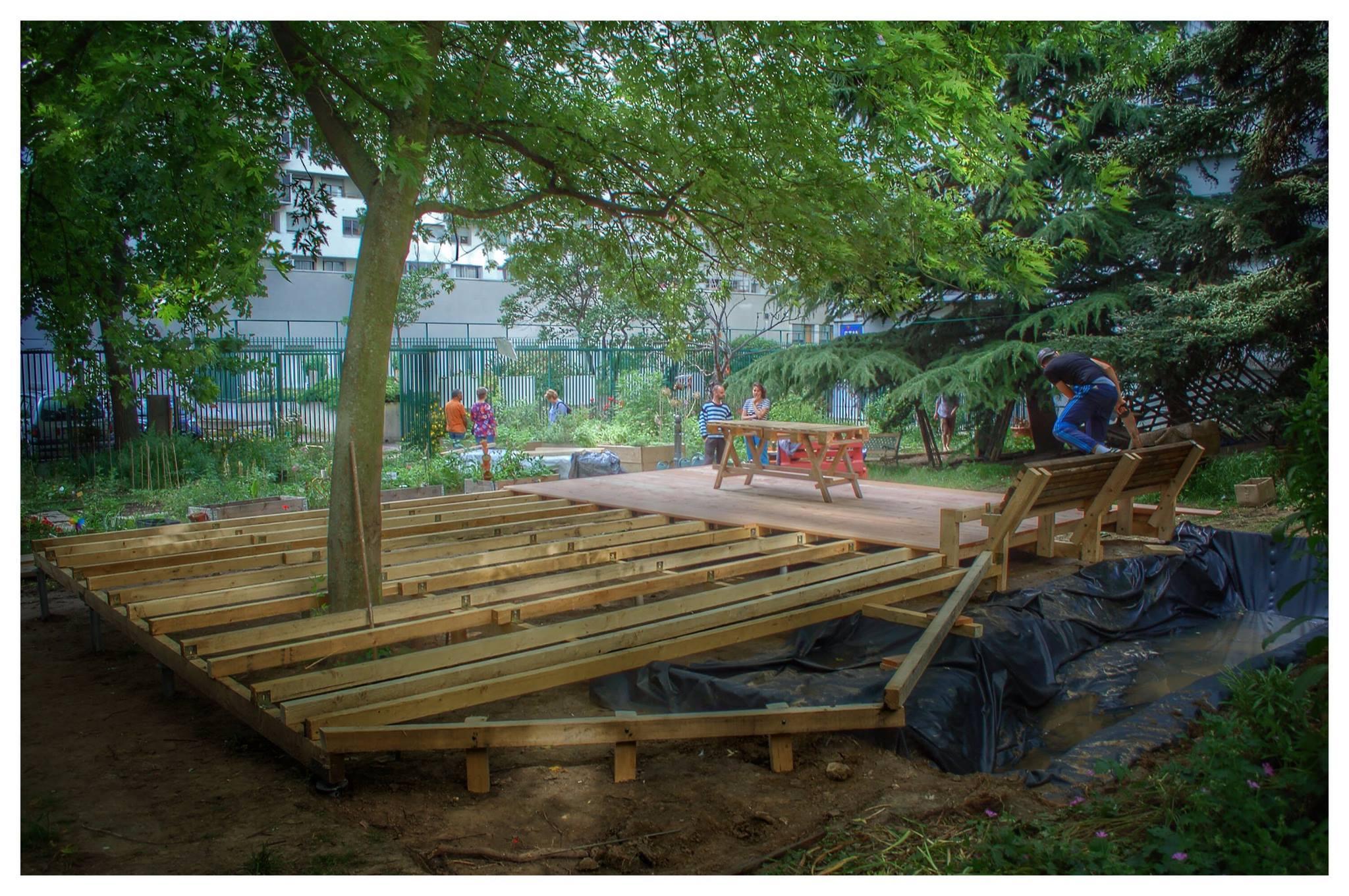 YA+K - yaplusk - Baleine Verte - chantier participatif à Paris 12ème (2)