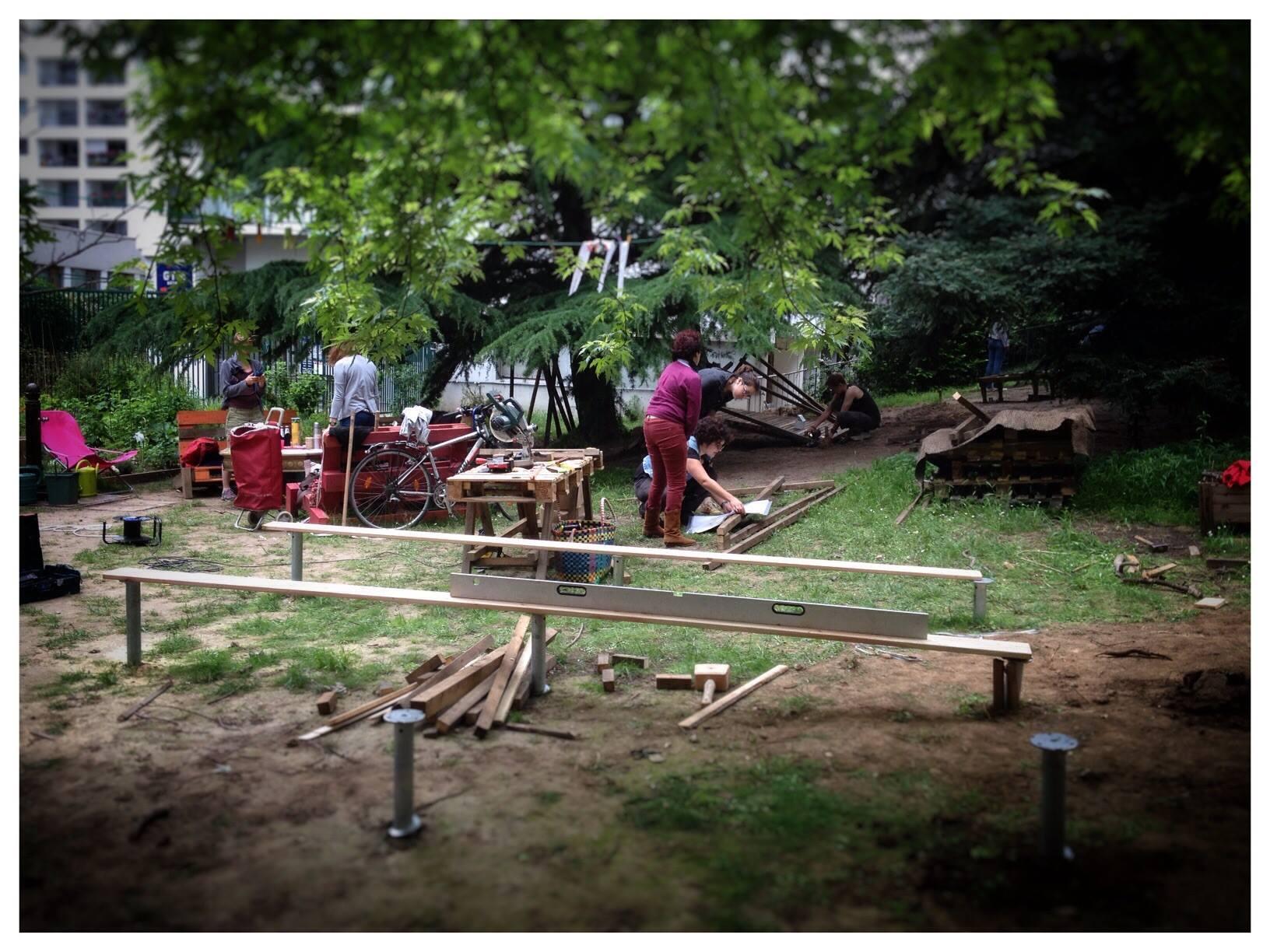 YA+K - yaplusk - Baleine Verte - chantier participatif à Paris 12ème (6)