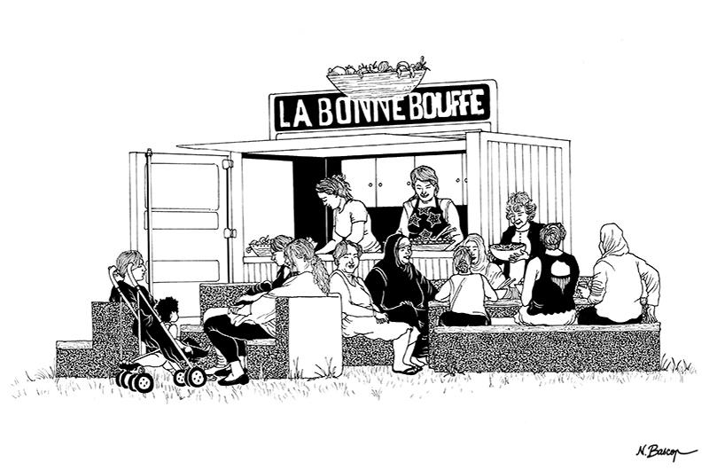 YA+K - yaplusk - La Courneuve - buvette associative