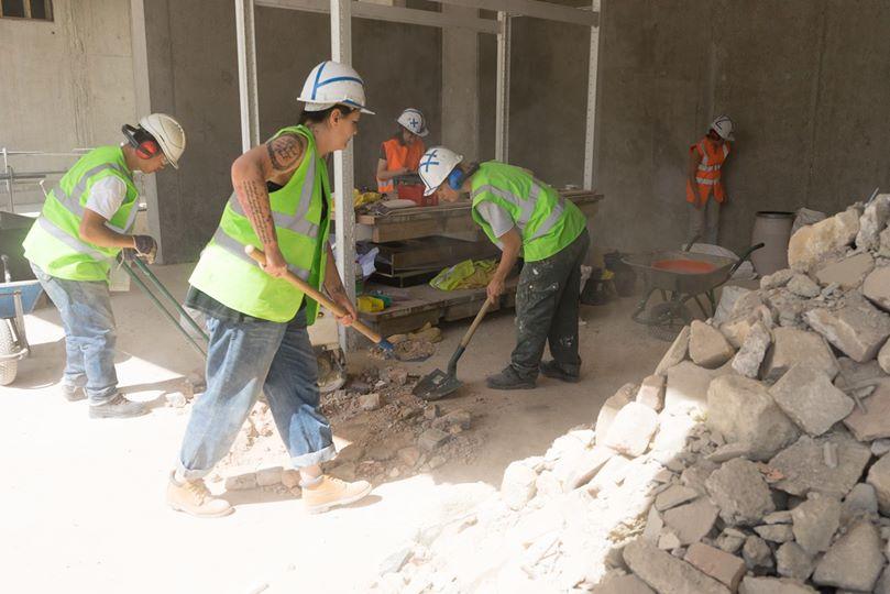 YA+K - yaplusk - Plateau d'été - workshop - chantier ouvert au public - 2014 (1)