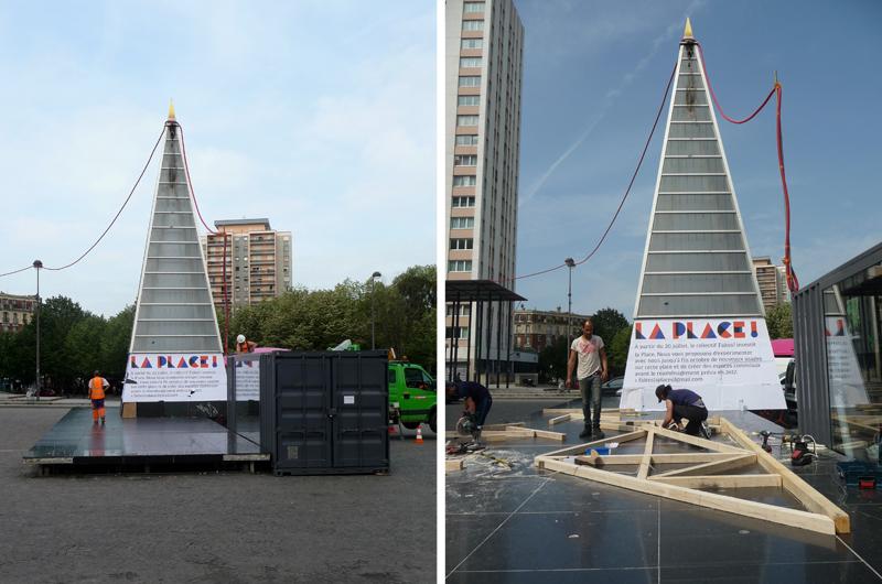 YA+K - yaplusk - construction du toit du CAPLA (3)
