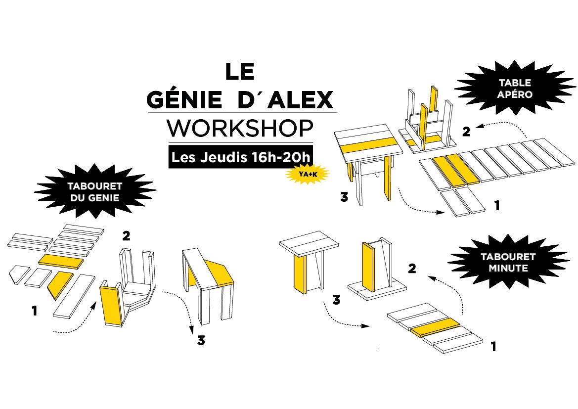LE GENIE D'ALEX-YA+K25